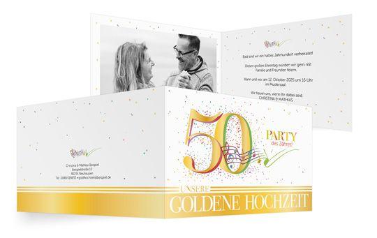 Party-des-Jahres-Gold