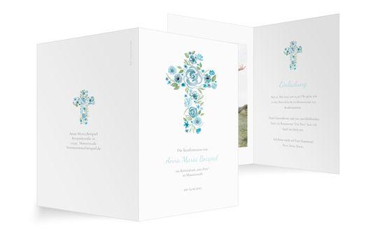 Floral-Cross