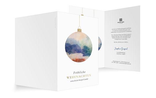 Minimalistische-Weihnachten