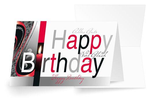 Geburtstagslicht
