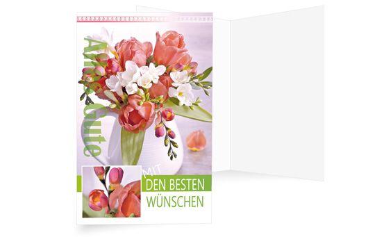 Tulpen und Freesien