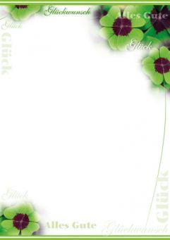 Glückskleeblätter