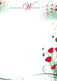 Erwachende Mohnblüten