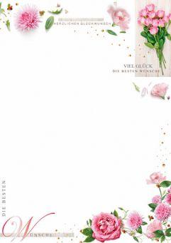 Blumenzauber in Rosa
