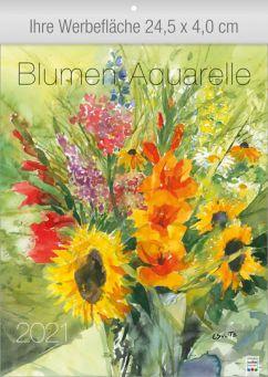 Blumen-Aquarelle