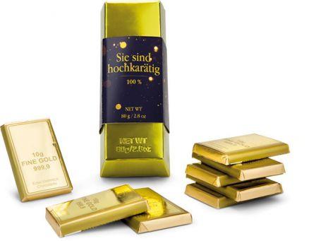 Goldbarren - Sie sind hochkarätig