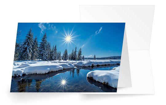 Winter am Fluss