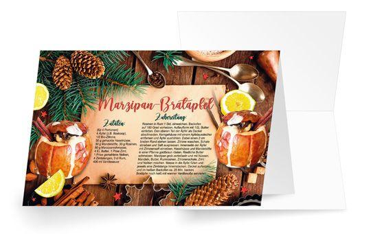 Marzipan-Bratapfel