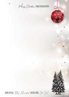 Weihnachtliche Stille