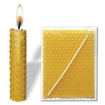 Bienenwachskerze, lose beigelegt