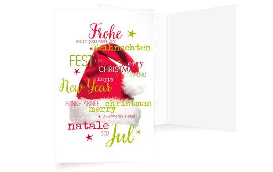 Grüße von Santa Claus