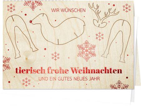 Tierisch frohe Weihnachten
